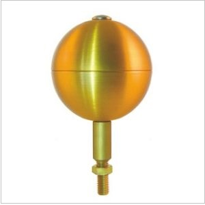 Gold Flagpole Ball Tops