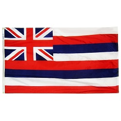 3' X 5' Polyester Hawaii State Flag