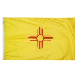 5' X 8' Polyester New Mexico State Flag