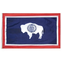 5' X 8' Polyester Wyoming State Flag