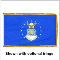 Indoor Nylon Air Force Flags
