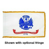 3' X 5' Indoor Nylon Army Flag